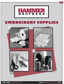 Hammer Brothers, Embroidery Supplies